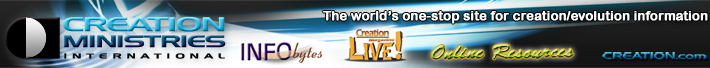 Creation Ministries International Banner