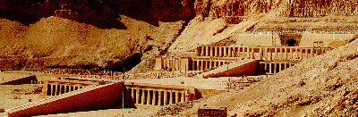 Queen Hatshepsut's temple at Luxor